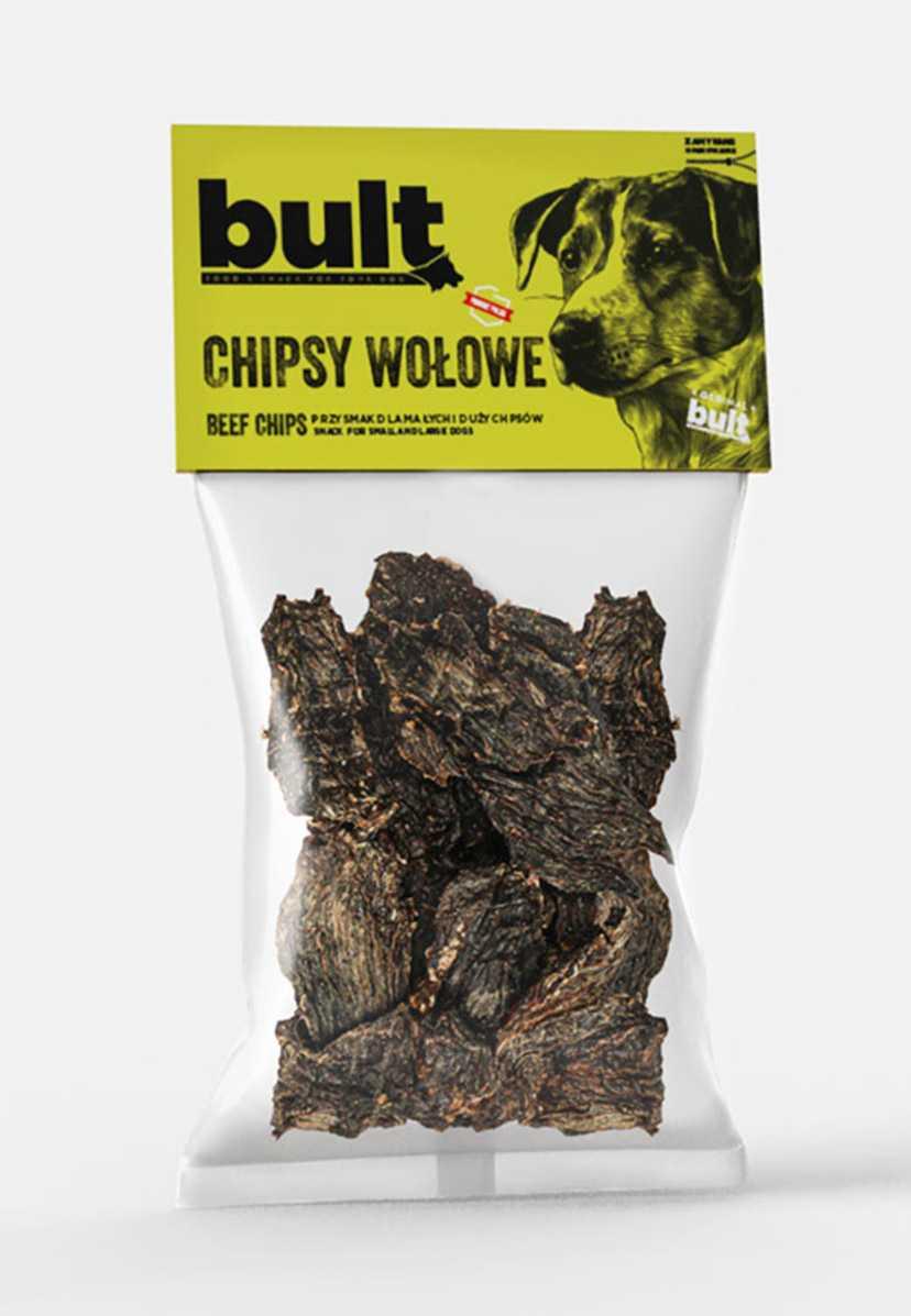 BULT Chipsy wołowe dla psa