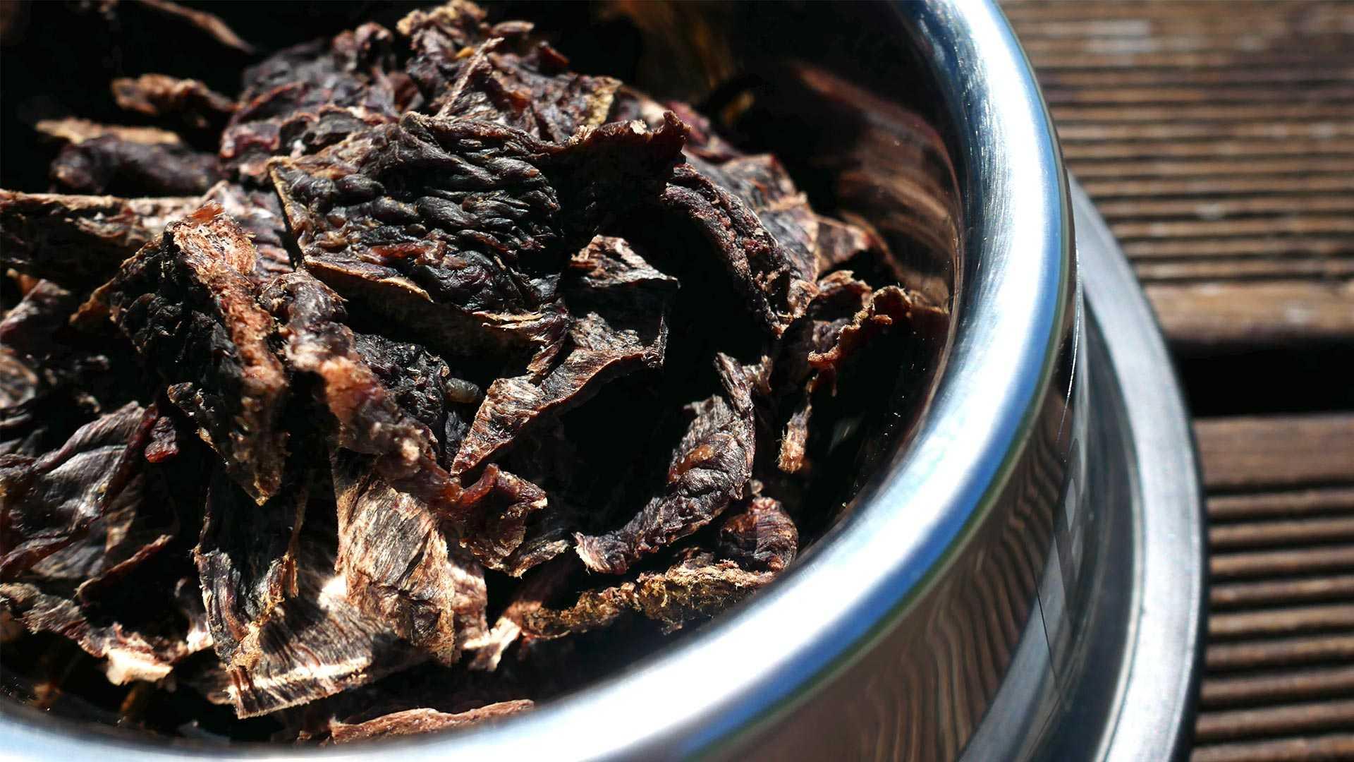 BULT Chipsy wołowe dla psa w misce