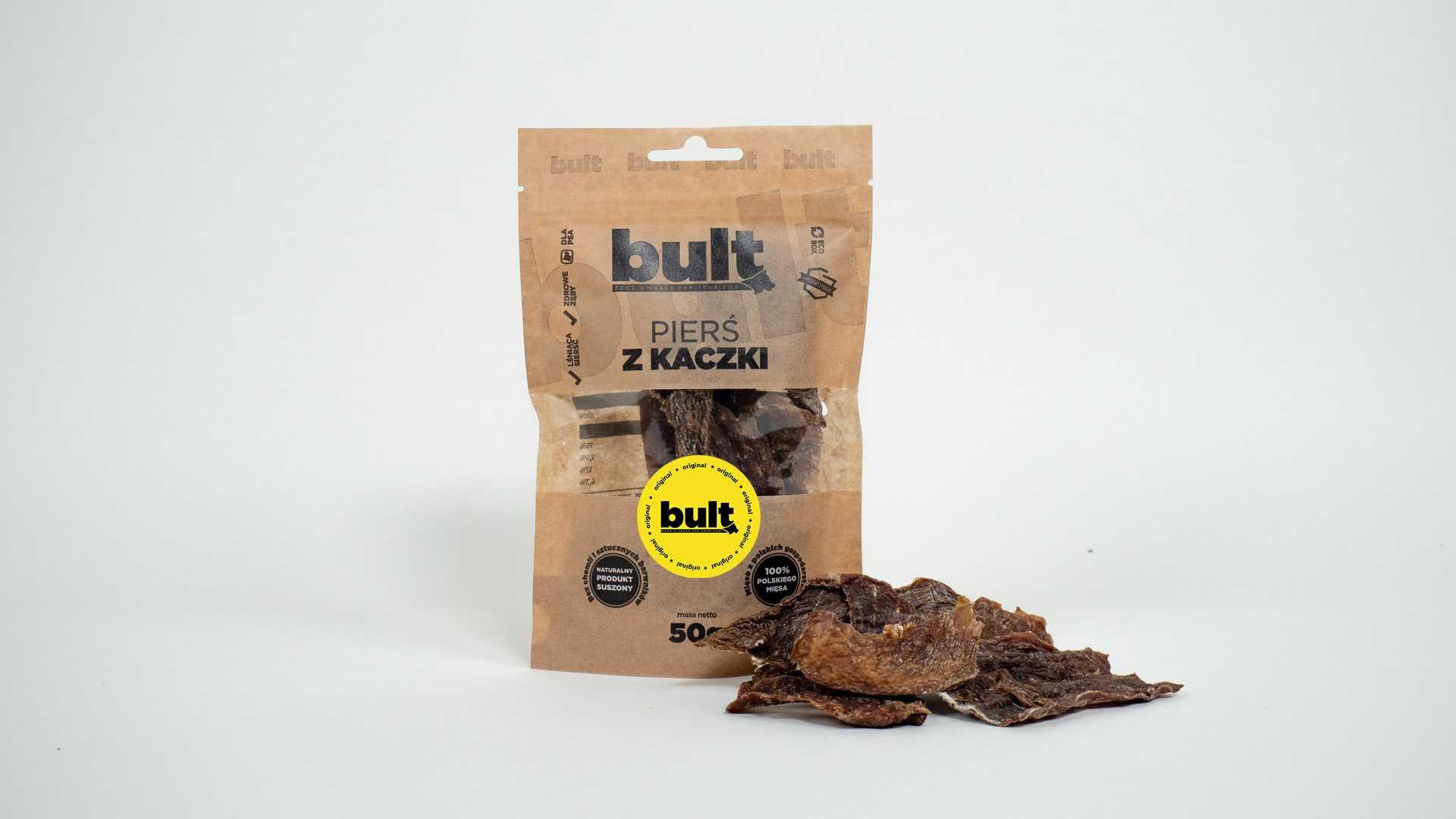 ekologiczne przysmaki dla psa bult kacza piers